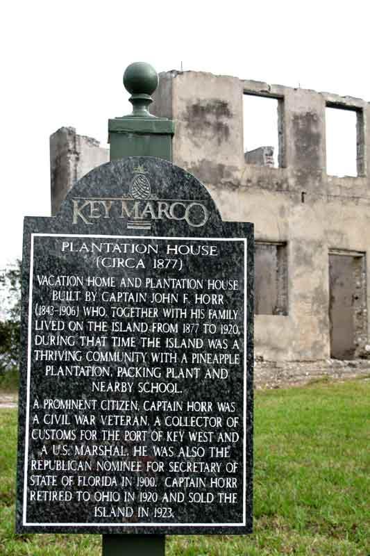 Plantation House on Key Marco