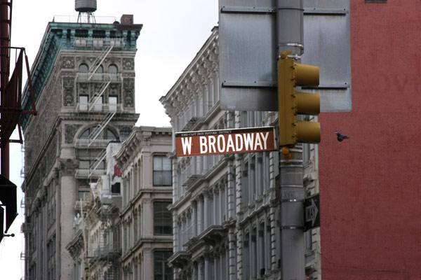 West Broadway in SoHo