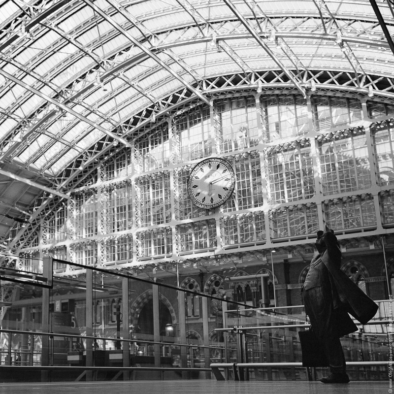 St.Pancras Station, London