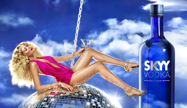 Advertising - Skyy Vodka