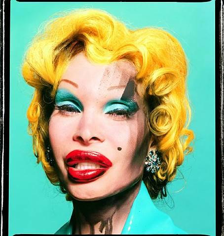 Amanda As Andy Warhol's Marilyn, 2002