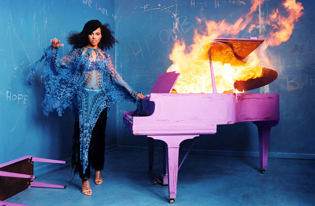 Burning Piano, 2003 (Alicia Keys)