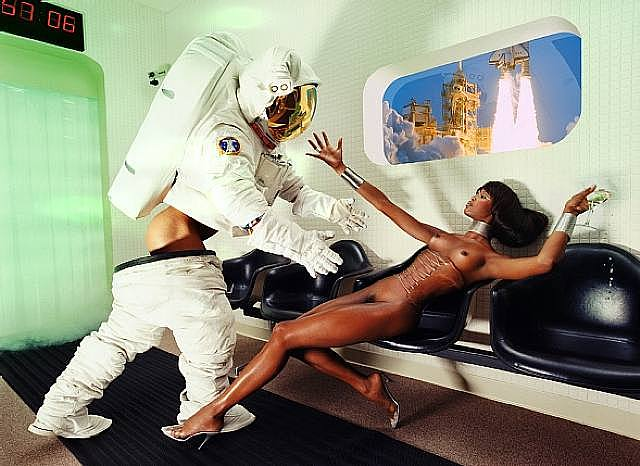 Houston, We Have a Problem, 1999  (Naomi Campbell)