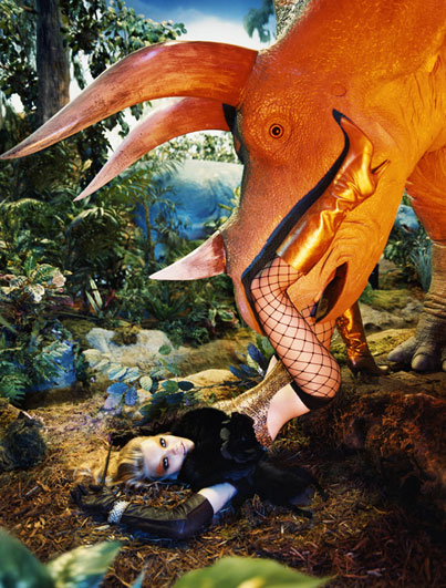 Jurassic Moment II, Italian Vogue, 2004