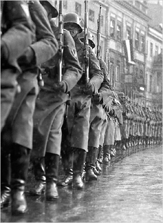 Opening of Parliament on March 21, 1933, Potsdam Day—The German Army marches out, 1933