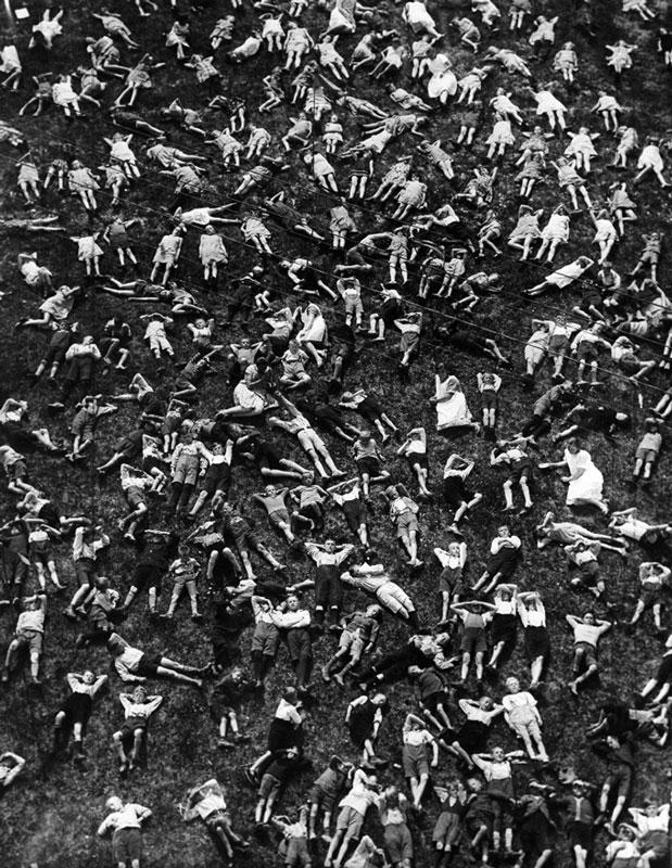 A Field Full of Children, Kissingen, Germany, 1929