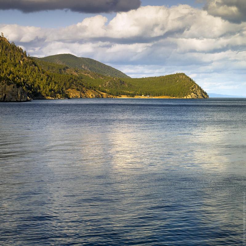 Siberia, Baikal: Reflection off the Lake