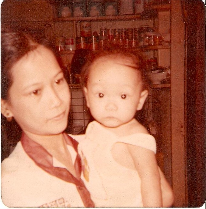 baby volt with mommy