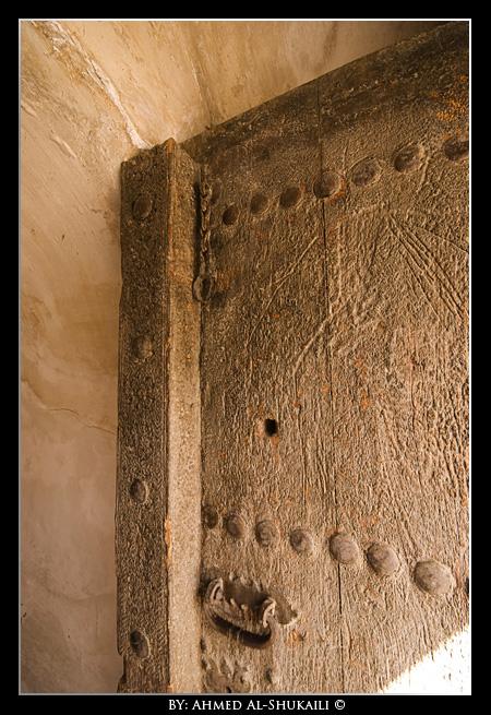 Door at Nizwa Fort