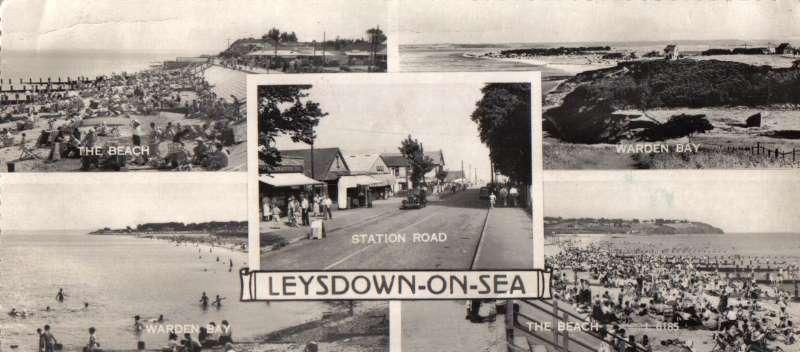 Leysdown Pano Card