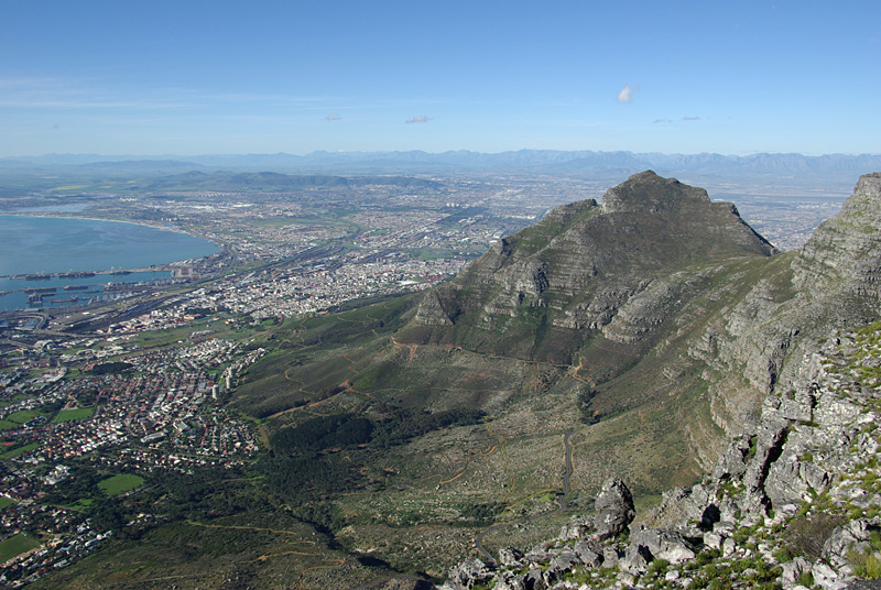 View on Cape Town