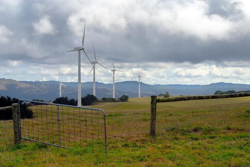 Gateway to the windmill farm
