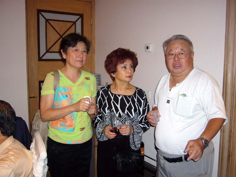 Toasting, Janet, Linda