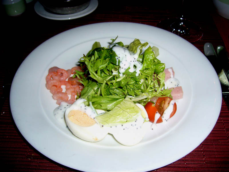 Sept 26 Dinner Pacific Heights Cobb Salad