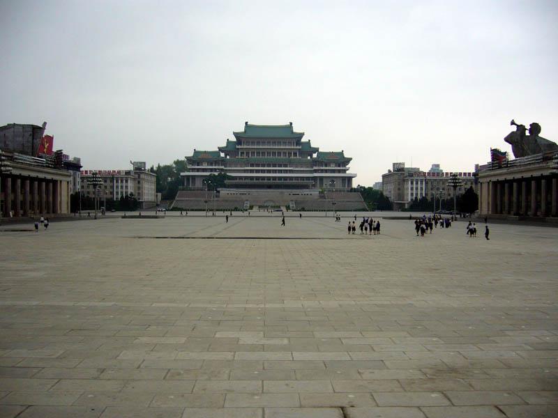 Pyongyang - Kim Il-Sung Square 2