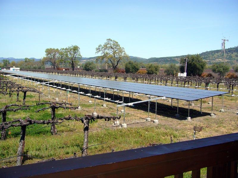 Silver Oak Solar panels