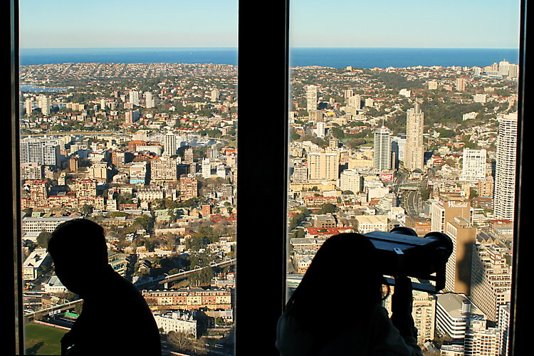 Sydney, from Central Point Tower 6841