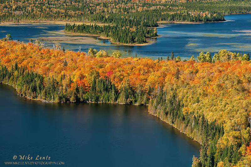 Mt. Sophies autumn glow