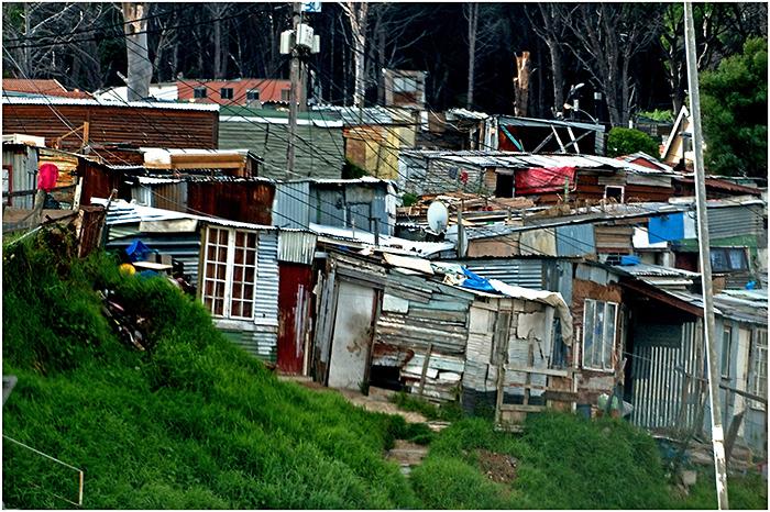 Township near Stellenbosch