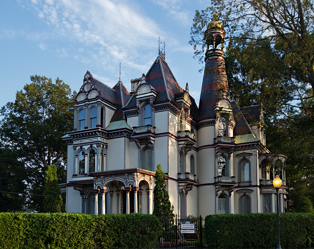 Victorian Mansion - Color - Image reprocessed 01/03/2017