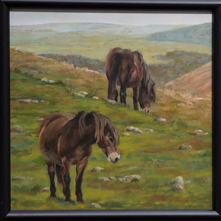Ponies of Ireland - Painted by Terry Lindsey