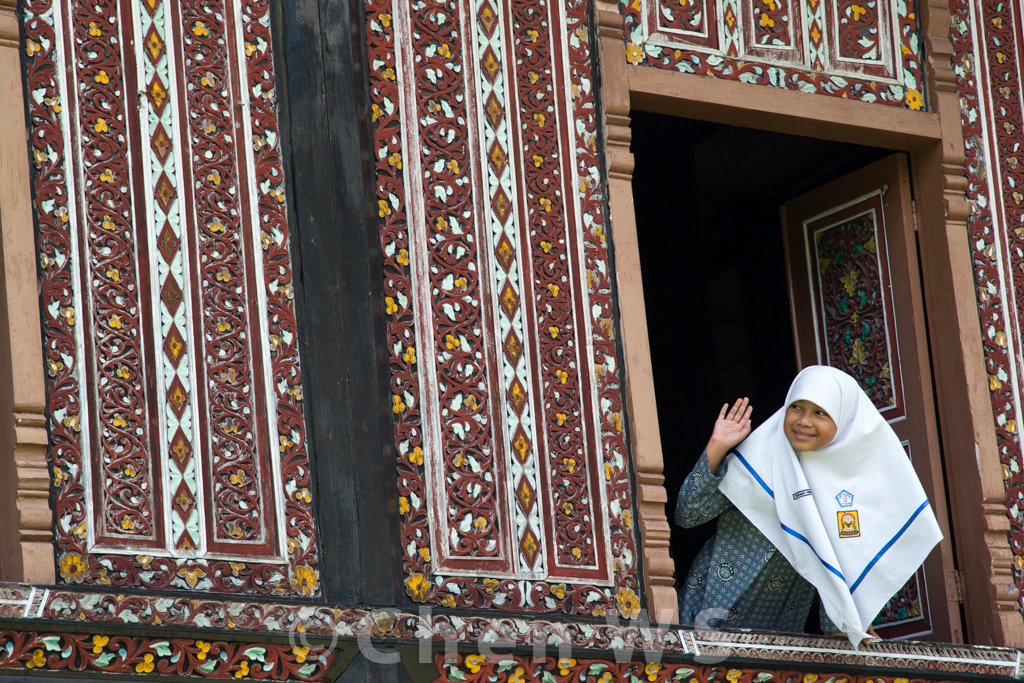 Padang school girl