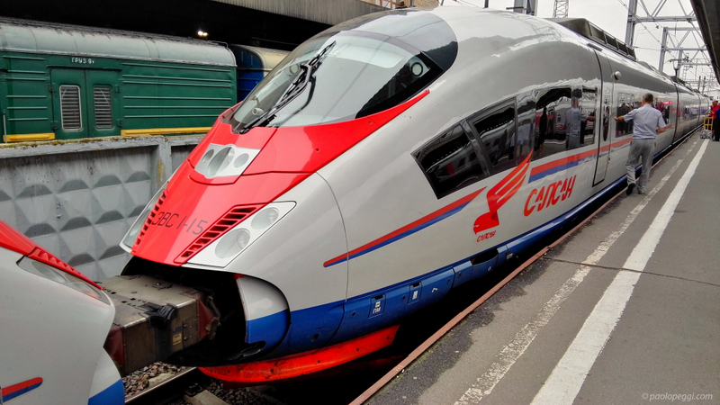 Are you ready to start? From St. Petersburg to Moscow up to 350Km/h (217 mph)