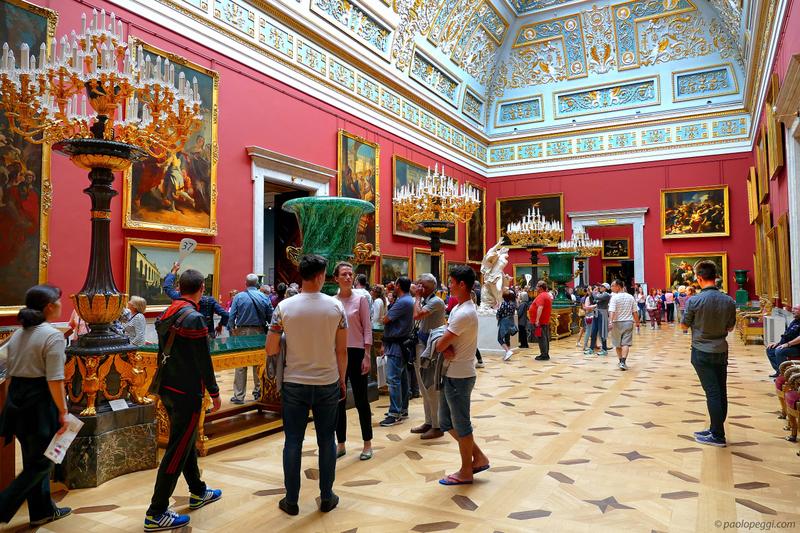 Inside the Hermitage Museum - Saint Petersburg