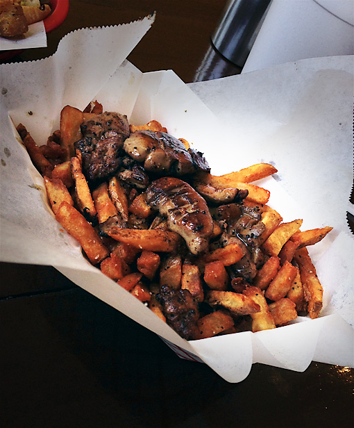 Foie Gras French Fries at Big & Littles