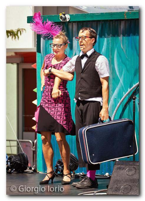 Duo Hoops - Becky Hoops & David Fiset