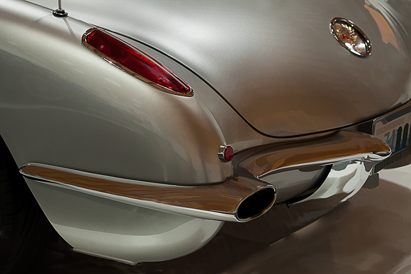59 Corvette Cstm Cnvrtble coupe