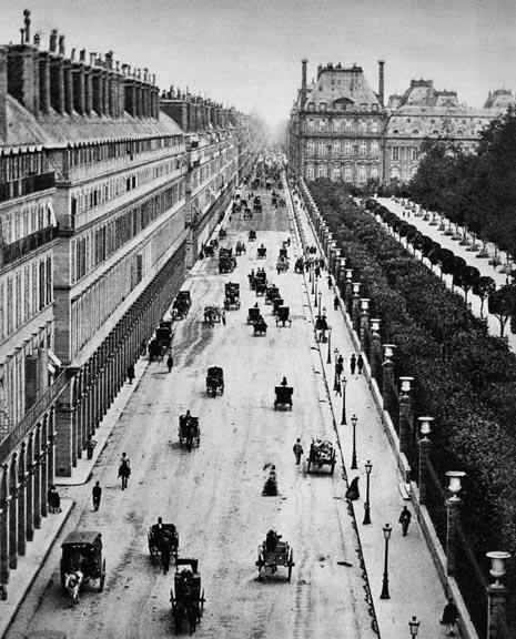 1855 - Rue de Rivoli