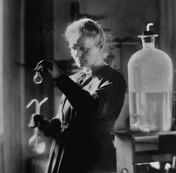 1910 - Marie Curie