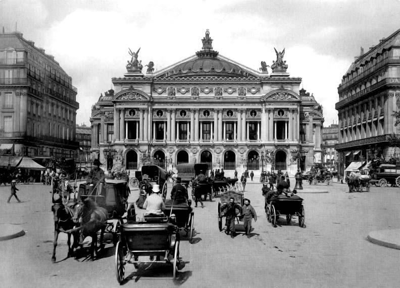1890s - Place de lOpéra