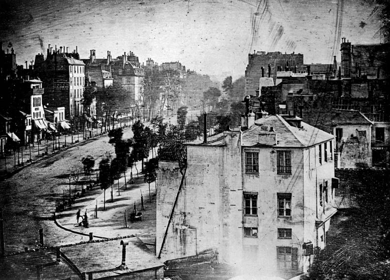 1838 - The earliest recorded photograph of a person