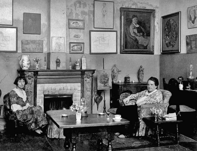 1922 - Gertrude Stein with Alice B. Toklas
