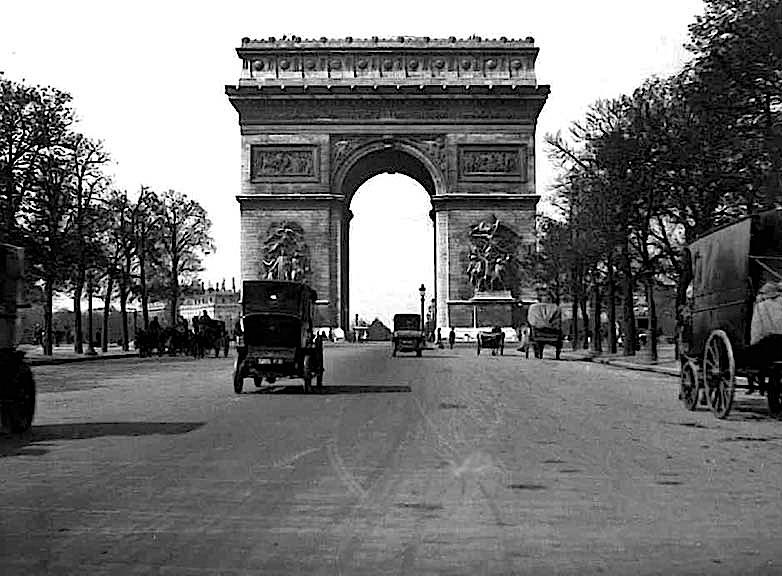 1910 - Champs Elysees