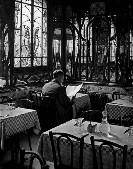 1900 - Table for one, Latin Quarter