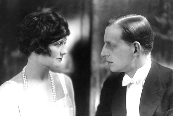 1920 - Coco Chanel with her then lover Grand Duke Dimitri Pavlovich