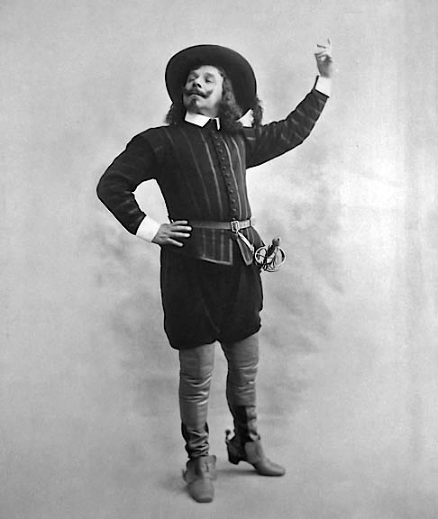 1897 - Coquelin as Cyrano de Bergerac...
