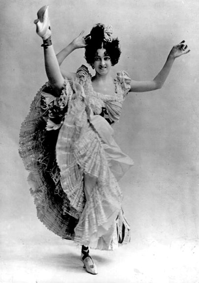 1895 - Can can dancer