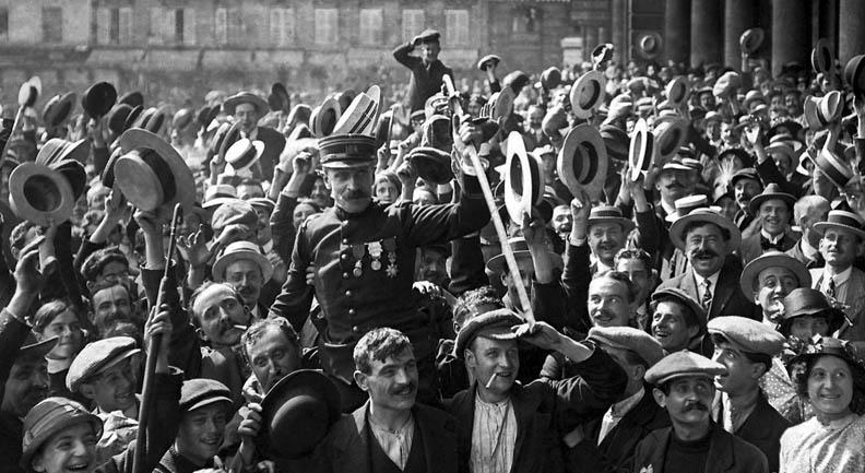 1914 - Off to war