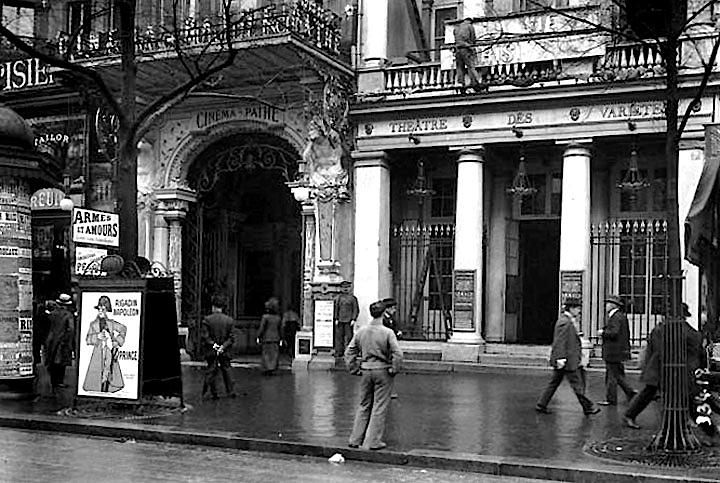 1913 - Cinéma Pathé and Théâtre des Variétés