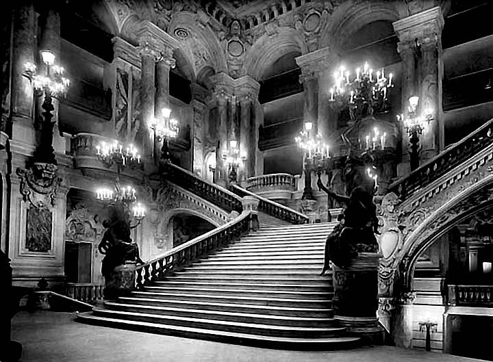 1890s - Interior of the Opera house (Palais Garnier)