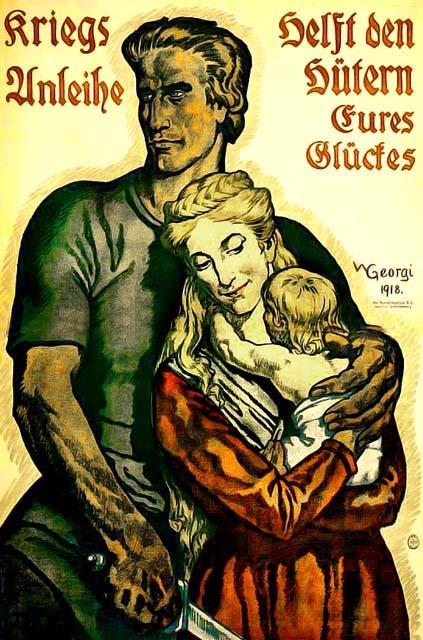 Vintage propaganda posters