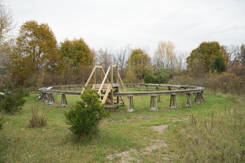 gauge 1 elevated steam track