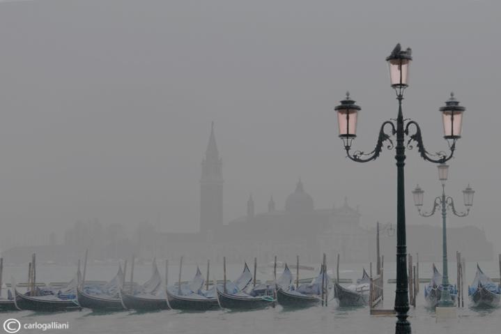 Venezia and fog