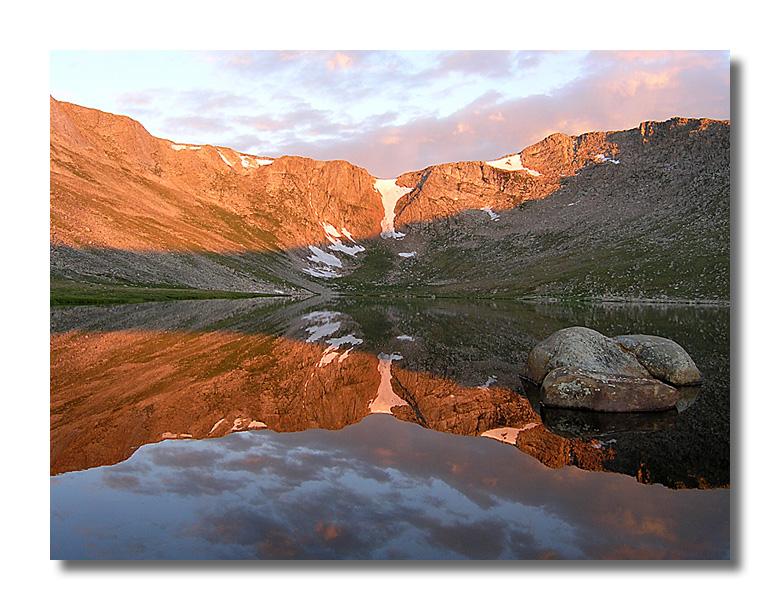 Sunrise at Summit Lake