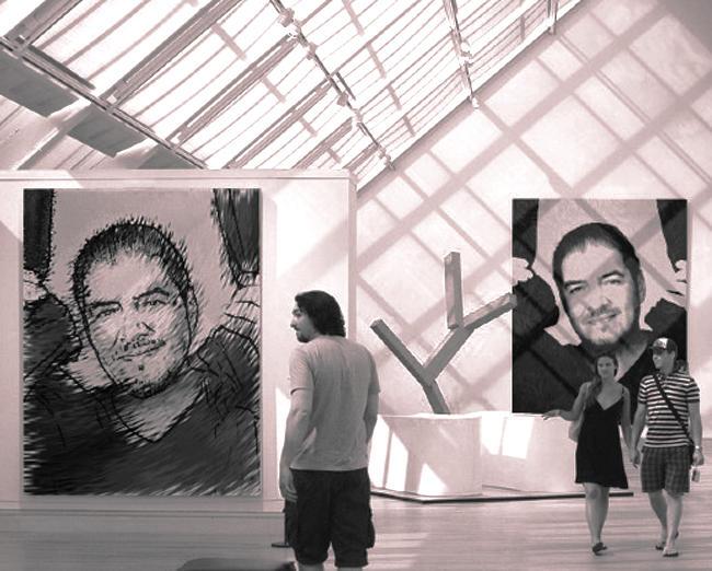 Jose Mata In A Exhibition :)~