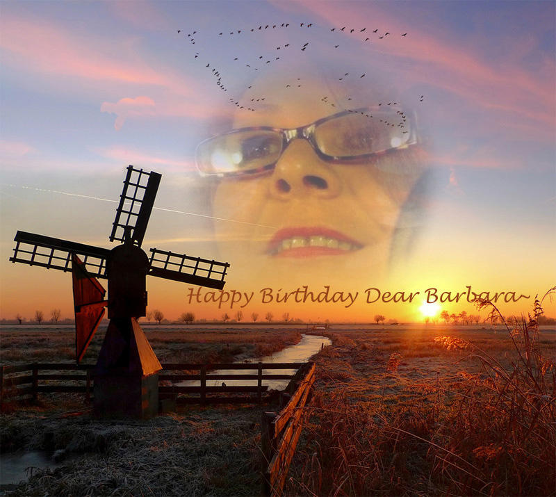 HAPPY BIRTHDAY DEAR BARBARA HEIDE !